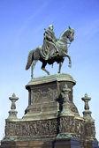 Pomnik króla jana w dreźnie — Zdjęcie stockowe