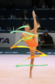 Rhythmic Gymnastics World Cup — Stock Photo