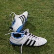 Pair of football boots — Stock Photo