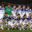 FC Dynamo Kyiv team pose for a group photo — Stock Photo