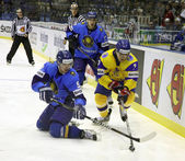 Ice-hockey. Ukraine vs Kazakhstan — ストック写真