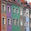 Colourful houses at Old Market Square in Poznan — Stock Photo #9523520