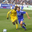 Andriy Shevchenko and Papa Gueye - Stock Photo