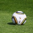 Jabulani soccer ball - Stock Photo