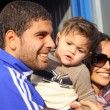 Gerson Magrao of Dynamo Kyiv and his family - Stock Photo