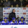 The head coach of Ukraine ice-hockey team David Lewis - Stock Photo