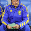 Ukraine national soccer team 2nd coach Aliaksandr Hatskevich — Stock Photo