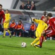 Oleksandr Aliev of Ukraine and Adam Straith of Canada - Stock Photo