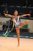 Copa del mundo de gimnasia rítmica — Foto de Stock