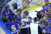 Ice-hockey. Ukraine vs Kazakhstan — Stock Photo