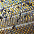 Stock Photo: Tribunes of the Olympic stadium (NSC Olimpiysky) in Kyiv