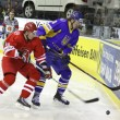 Ice-hockey game Ukraine vs Poland — Stock Photo #9673283
