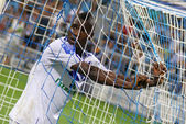 FC Dynamo Kyiv's striker Brown Ideye — Stock Photo