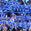 FC Dnipro supporters — Stock Photo