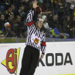 Ice-hockey referee — Stock Photo #9697759