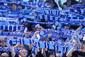 FC Dnipro supporters — Stockfoto