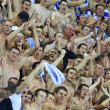 FC Dynamo Kiev team supporters — Stock Photo