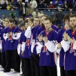 great britain - the silver medalist of iihf world championship — Stock Photo