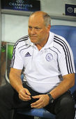 The head coach of AFC Ajax Martin Jol — Stock Photo