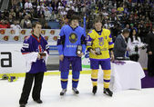 Individual Awards of IIHF World Championship — Stock Photo