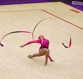 Rhythmic Gymnastics World Cup — Stock Photo