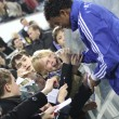 Betao of Dynamo Kyiv gives autographs - Stock Photo