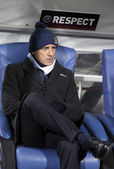 FC Manchester City manager Roberto Mancini — Stock Photo