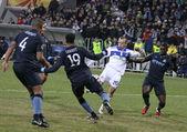 Dynamo Kyiv vs Manchester City — Stock Photo