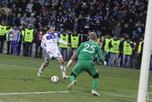 Dynamo kiev vs manchester city — Photo