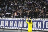 Goalkeeper Oleksandr Shovkovskyi of Dynamo Kyiv — Stock Photo