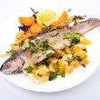 Roasted trout - Stock Photo