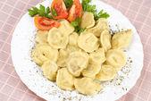 Pelmeni food — Stock Photo