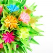 Foto Stock: Origami kusudamflower