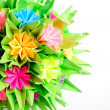 Stock Photo: Origami kusudamflower