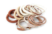 Various elastic band — Stock Photo