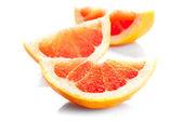 Grapefruit's parts — Stock Photo