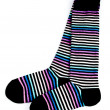 Stock Photo: Socks isolated