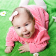 Adorable baby girl — Stock Photo #9899550