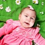 Adorable baby girl — Stock Photo #9899568