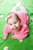 Adorable baby girl — Foto Stock
