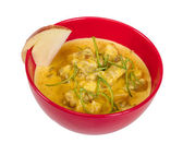 Yellow Curry Chicken (Massaman Curry Chicken) — Stock Photo