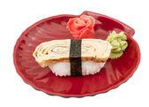 Tamago (Omelet) sushi — Stock Photo