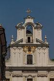 Historic building in Krakow. Poland — Stockfoto