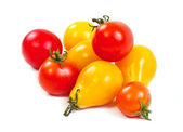 Yellow and red tomatoes — Stock Photo