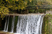 Waterfall in Greece. — Stock Photo