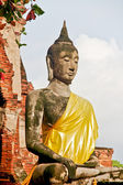 Buddha Statue - Ayuthaya, Thailand — Stock Photo