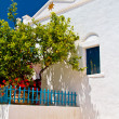 Stock Photo: Greek tradition architecture