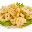 Golden deep fried onion rings — Stock Photo #9220861