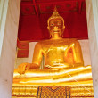 Buddha statue in Thailand — Stock Photo #9221425