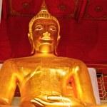 Buddha statue in Thailand — Stock Photo #9221428